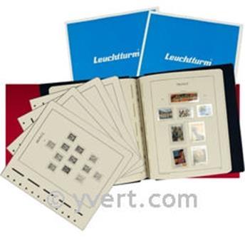 FRANCE SF :  1990-1994 (avec pochettes) LEUCHTTURM
