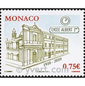 n° 2754 -  Selo Mónaco Correios