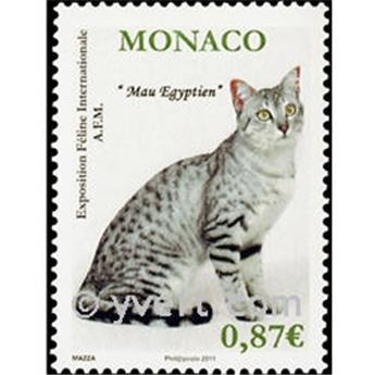 n° 2758 -  Selo Mónaco Correios