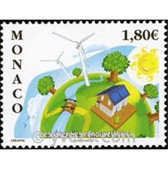 n.o 2763 -  Sello Mónaco Correos