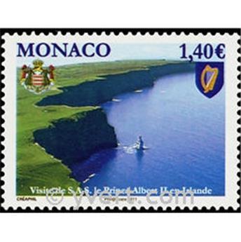 n° 2768 -  Selo Mónaco Correios
