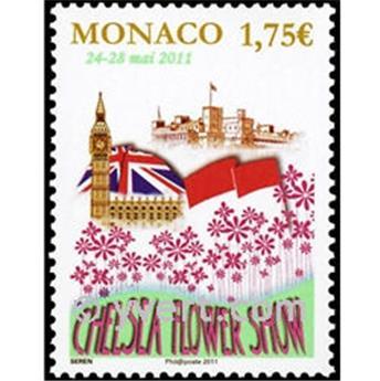 n° 2774 -  Selo Mónaco Correios