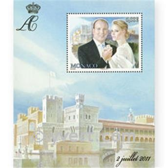 n° 2790 (BF 100) -  Timbre Monaco Poste