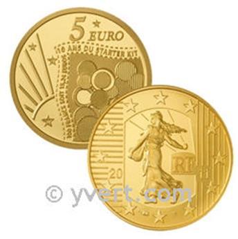 5 EUROS OR - FRANCE 2011 (STARTER KIT)