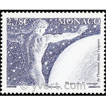 n° 2798 -  Timbre Monaco Poste