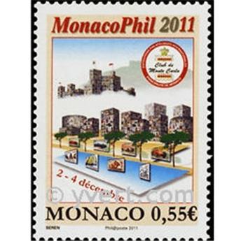 n° 2795 -  Selo Mónaco Correios