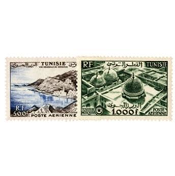 n°18/19** - Stamp Tunisia Air Mail