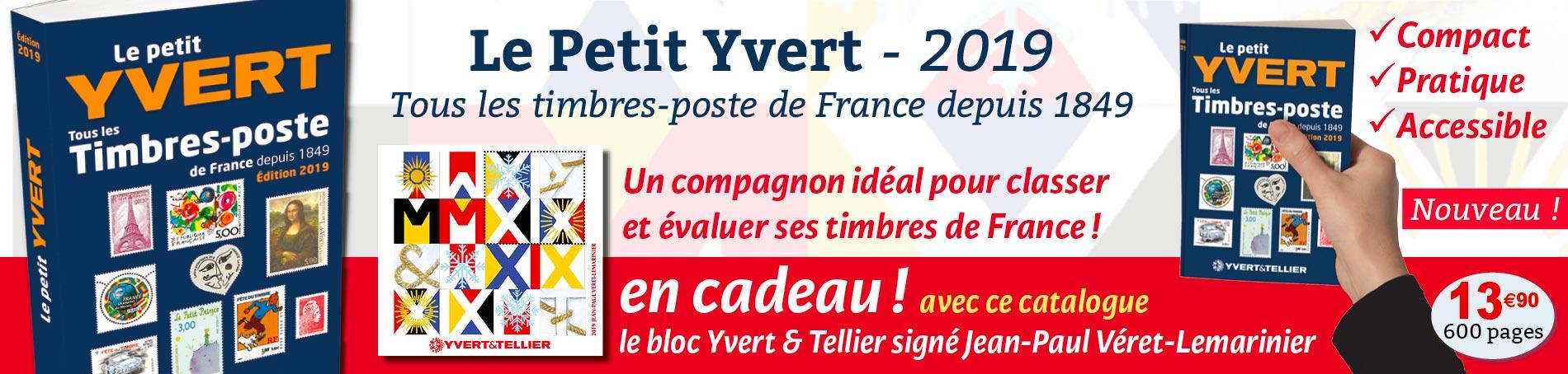 Petit Yvert 2019
