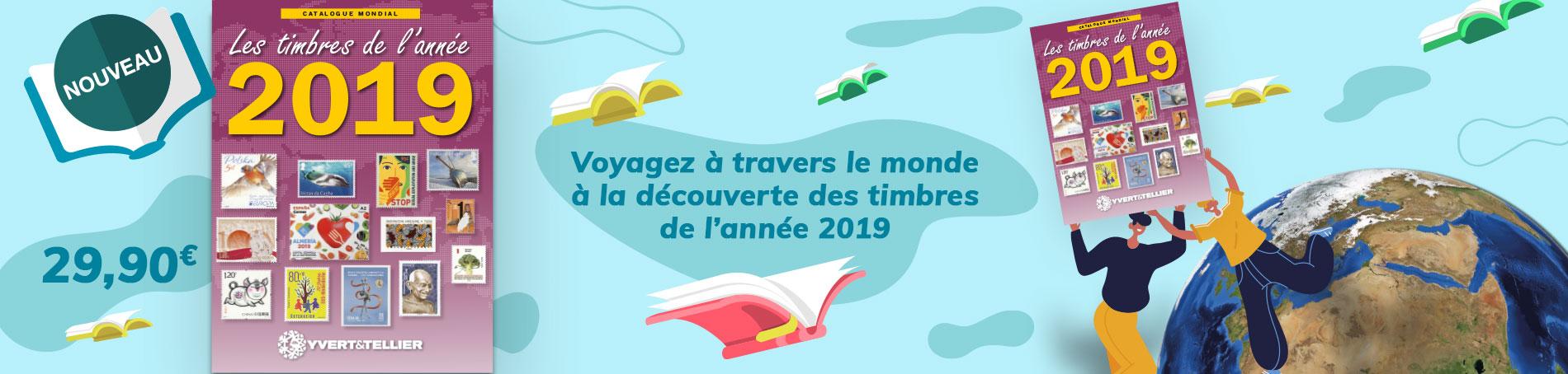 Catalogue Timbre Nouveauté 2019
